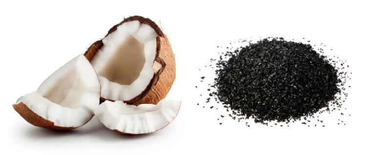 塩素除去シャワーヘッドJOWER(ジョアー)「繊維状活性炭」&「ヤシガラ活性炭」