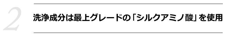 魂のハピースカルプハーブ泡シャンプー!(詰替用)【2】 洗浄成分は最上グレードの「シルクアミノ酸」を使用