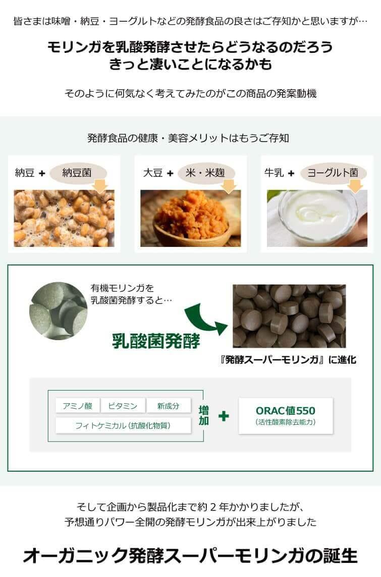 オーガニック発酵スーパーモリンガの誕生