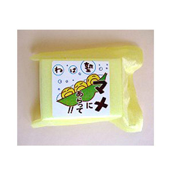 ねば塾 豆乳エキス配合「豆しぼり」(化粧石鹸)
