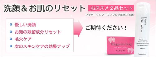 マグポーリン石鹸 と プレ化粧水フルボ の セット