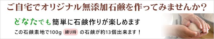 山澤清の「手作り石鹸の素(無添加石鹸素地)」1000g