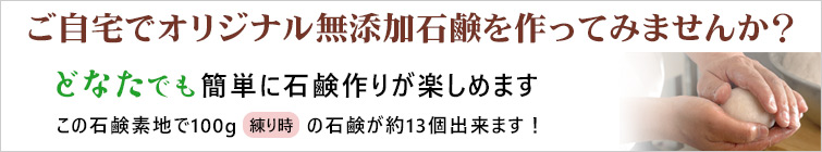 山澤清の「手作り石鹸の素1000g」