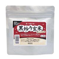 オーサワの黒炒り玄米