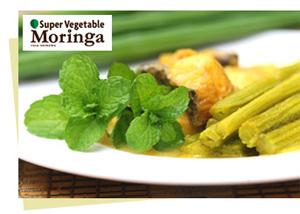 スーパーベジタブル『モリンガ』丸ごと食べる