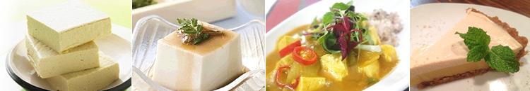 浜御塩の海水にがりで作った豆腐のレシピ