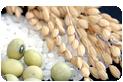 国産の有機米