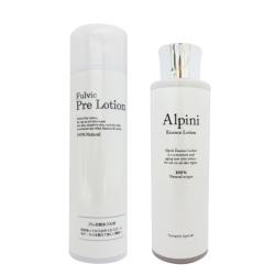 プレ化粧水フルボ+アルピニ化粧水