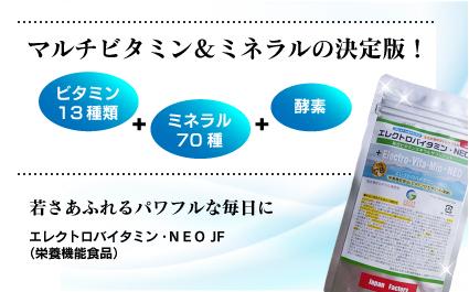 エレクトロバイタミン・NEO JF(280mg×270粒)